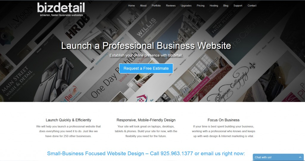 Bizdetail Home Page